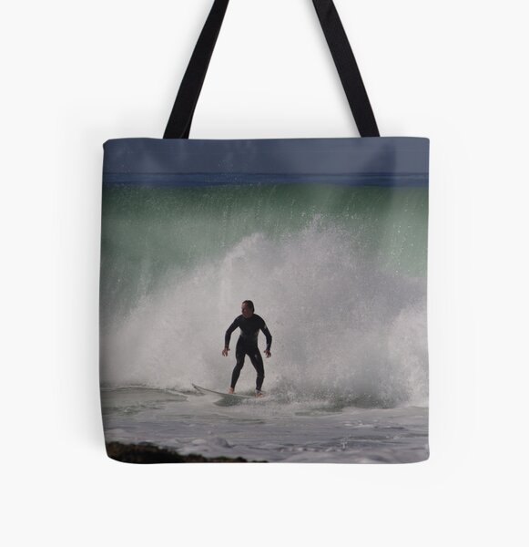 Wall of Water All Over Print Tote Bag