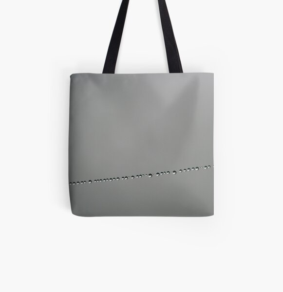 Morning Pearls All Over Print Tote Bag