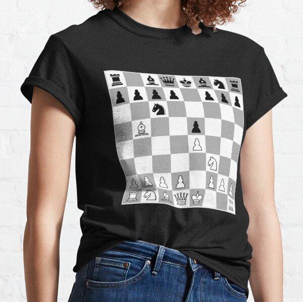 Chess Opening Ruy Lopez Spanish Game Player 1.E4 Classic T-Shirt