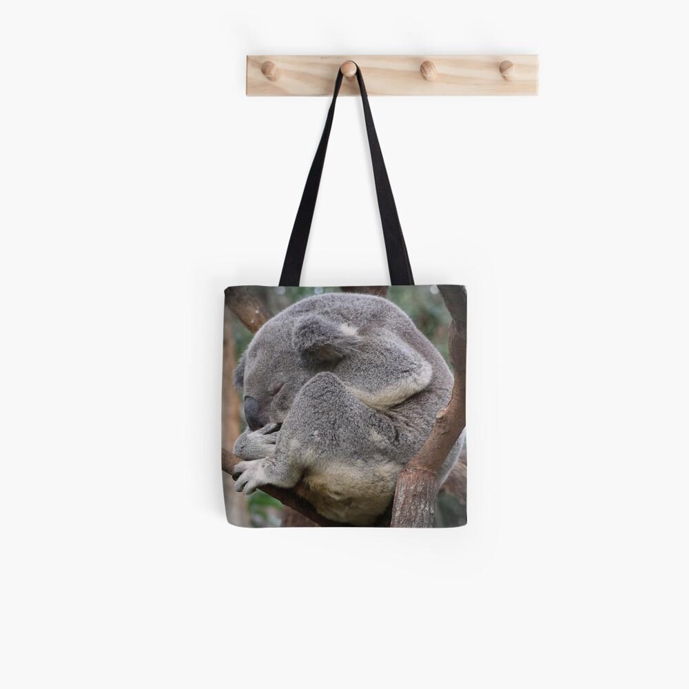Koala Sleeping Tote Bag
