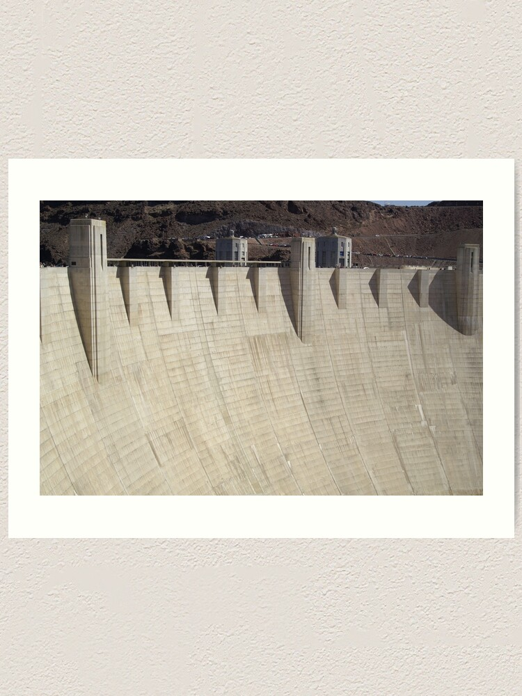 Alternate view of Hoover Dam Art Print