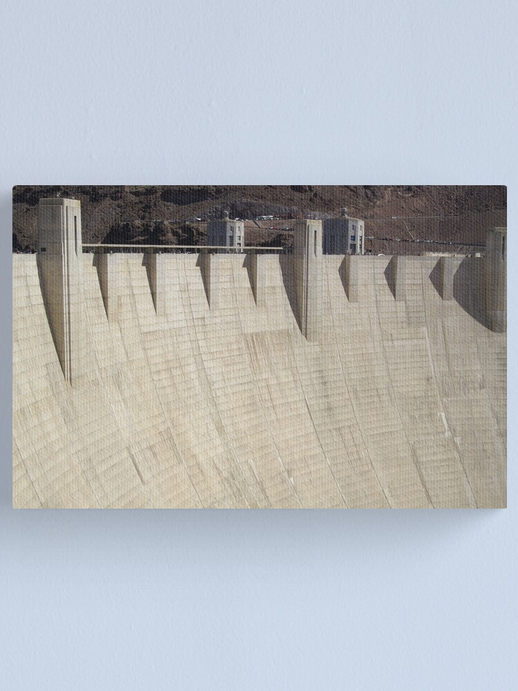 Alternate view of Hoover Dam Canvas Print