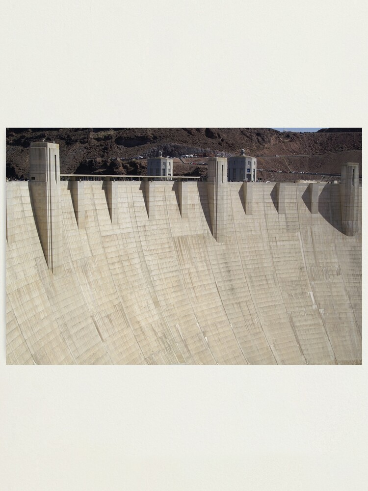 Alternate view of Hoover Dam Photographic Print