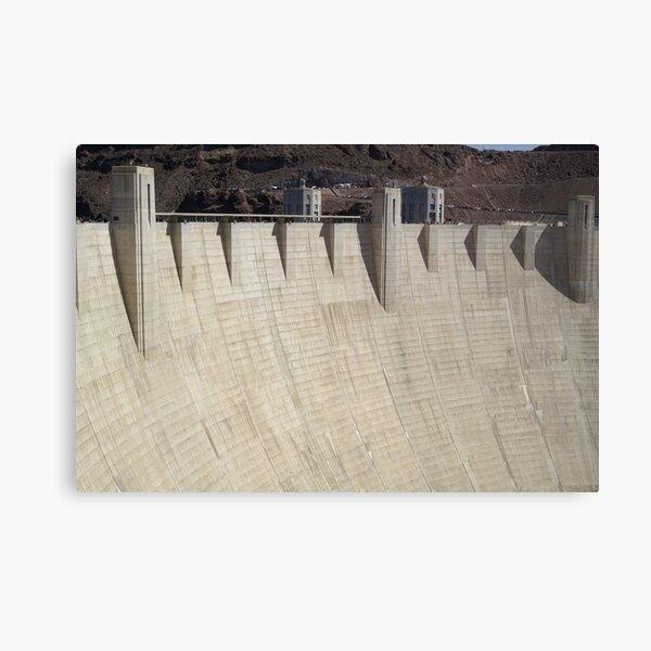 Hoover Dam Canvas Print
