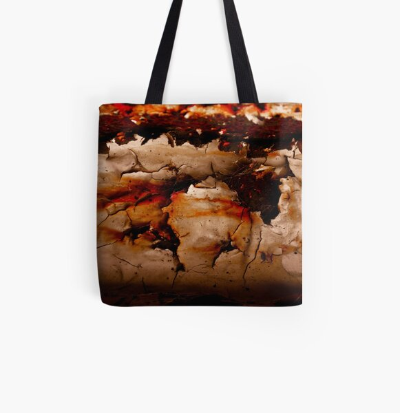 Rust All Over Print Tote Bag
