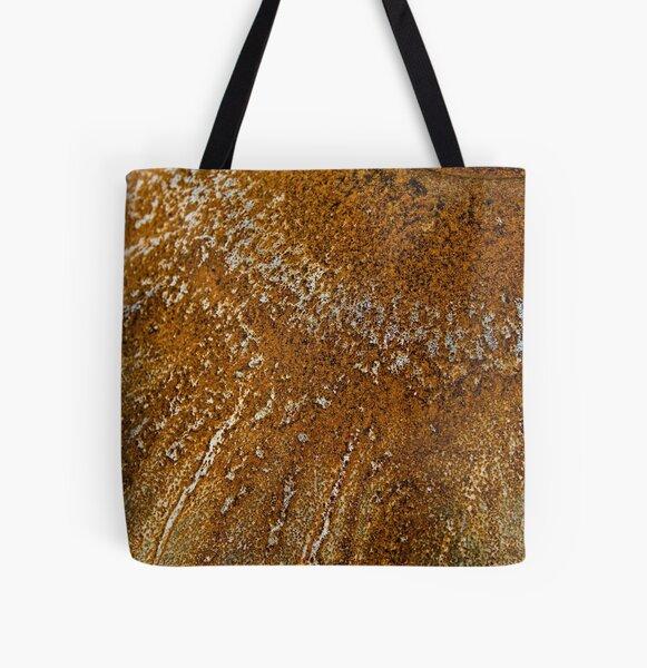 Acid Rust All Over Print Tote Bag