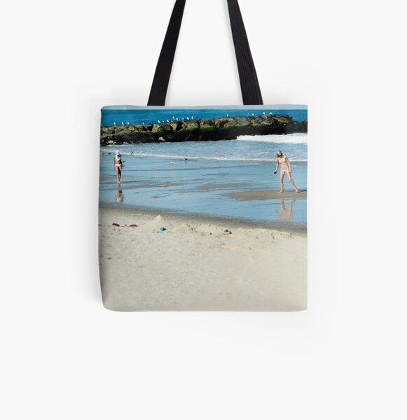 Beach Days All Over Print Tote Bag