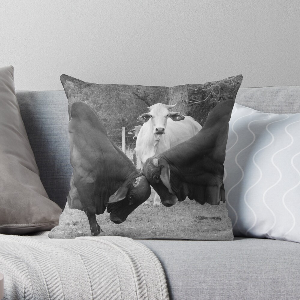 The Referee Throw Pillow