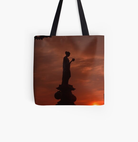 Greeting the Dawn All Over Print Tote Bag