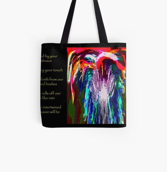 Passion for A.W.D.A.G. All Over Print Tote Bag