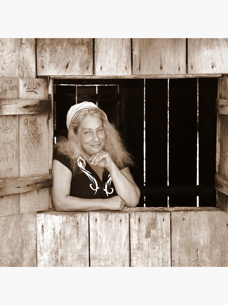 Angie at Mulligans Hut by theoddshot