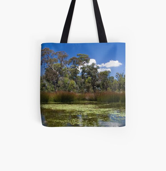Cathedral Rocks National Park All Over Print Tote Bag