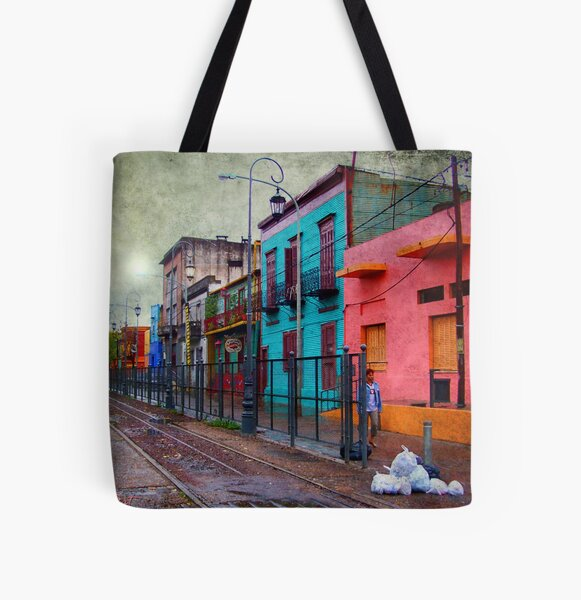 La Boca All Over Print Tote Bag