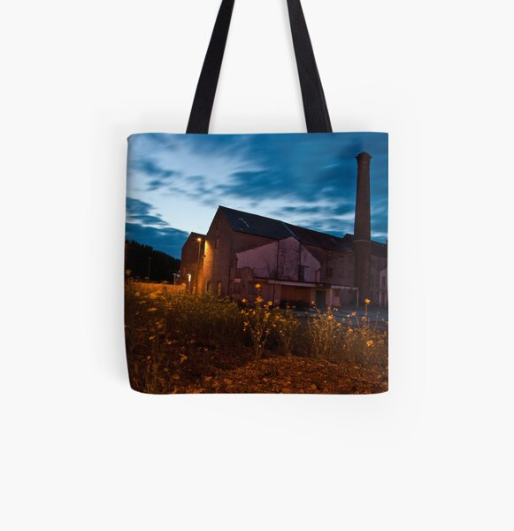 Moorlands Factory All Over Print Tote Bag