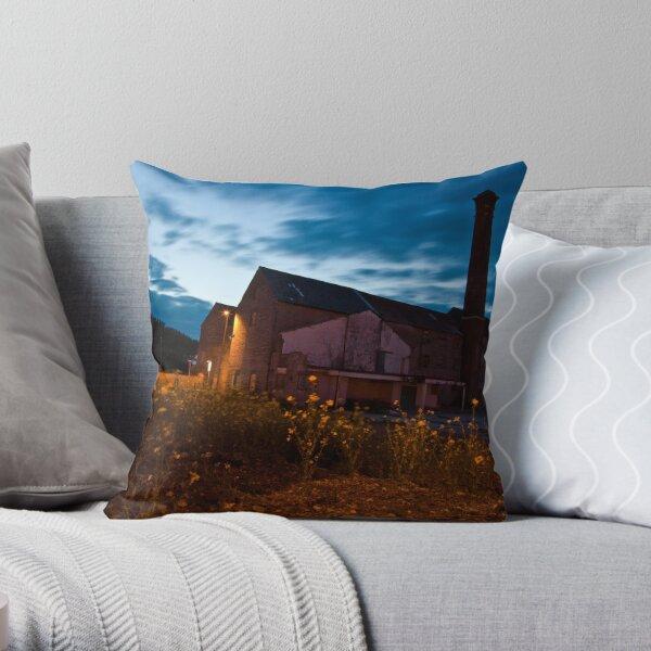 Moorlands Factory Throw Pillow