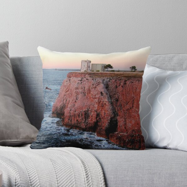 The King of the Rock Throw Pillow