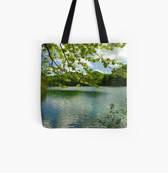 Plitvice National Park All Over Print Tote Bag