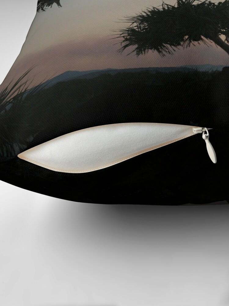 Alternate view of Dark Wind Throw Pillow
