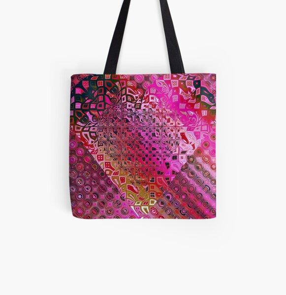 Geometry Allover-Print Tote Bag