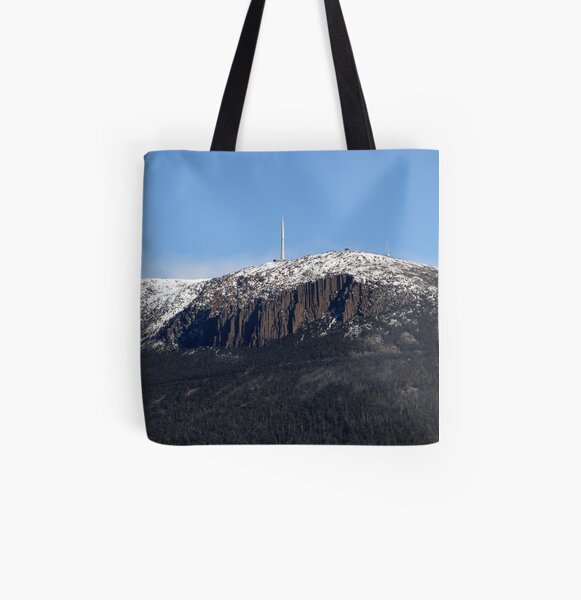 'The Mountain' All Over Print Tote Bag