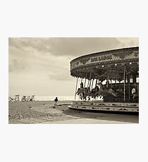 At The Seaside Photographic Print
