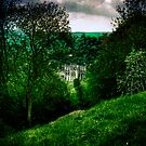 Rievaulx Abbey, from the Terrace by Lucy Martin