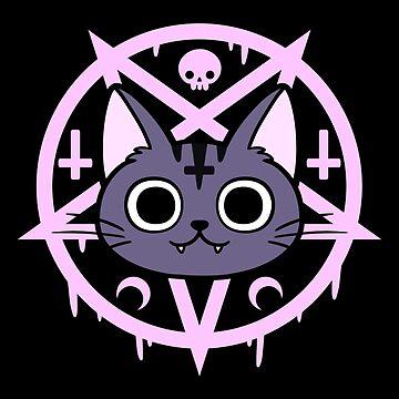 Black Meowgic 04 by nikury