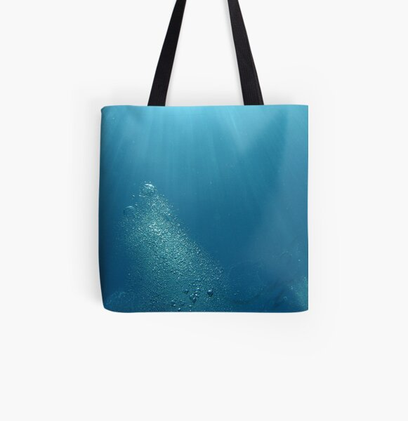 Bubbles 1 All Over Print Tote Bag