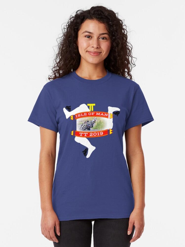 Alternate view of TT Isle of Man Classic T-Shirt
