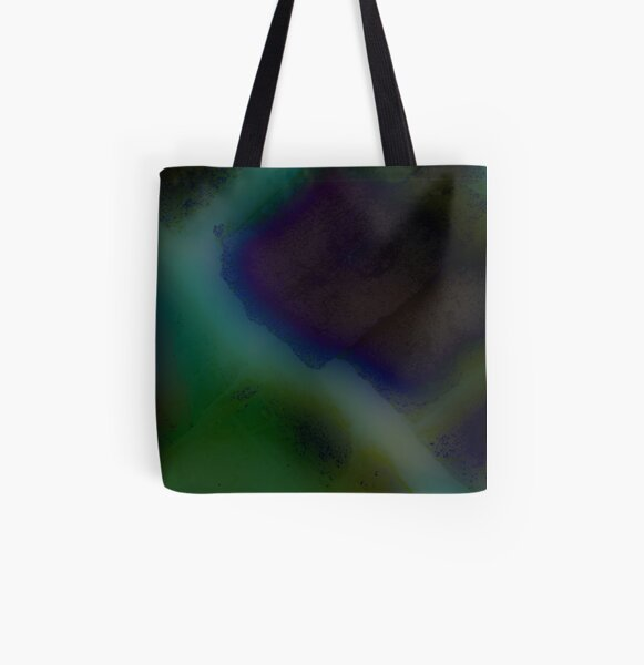 Colors At Midnight All Over Print Tote Bag