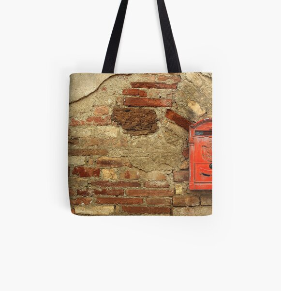 Mail Box, Tuscany, Italy All Over Print Tote Bag
