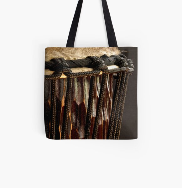 Djembe Drum All Over Print Tote Bag