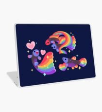 Rainbow guppy 5 Laptop Skin