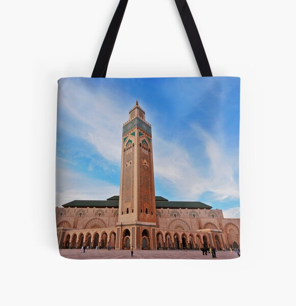 Hassan  II Mosque All Over Print Tote Bag