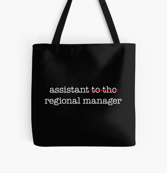 Assistant to the Regional Manager All Over Print Tote Bag