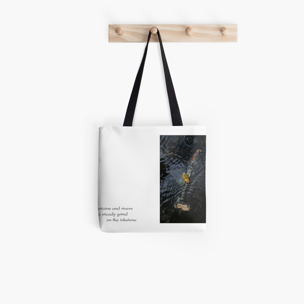 mountains and rivers Tote Bag