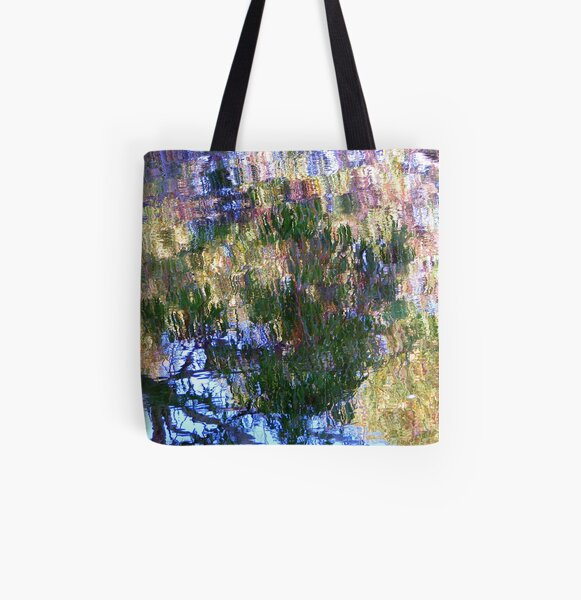Water Garden All Over Print Tote Bag
