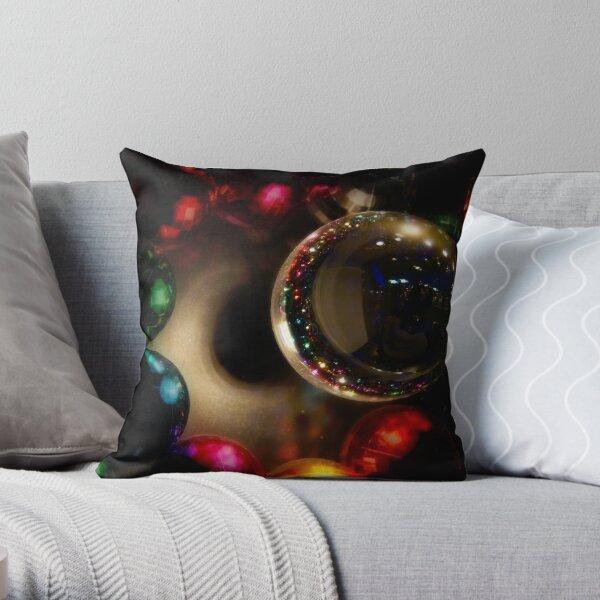 IfNotForLight...Flight (One Christmas Card) Throw Pillow