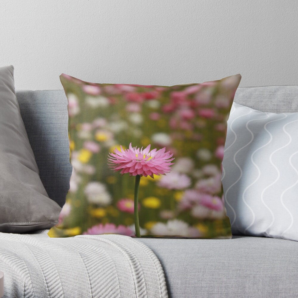 Standing out from the crowd Throw Pillow