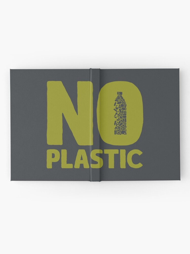 Alternate view of No plastic Hardcover Journal