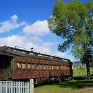 Retired Train Car. by MeBoRe
