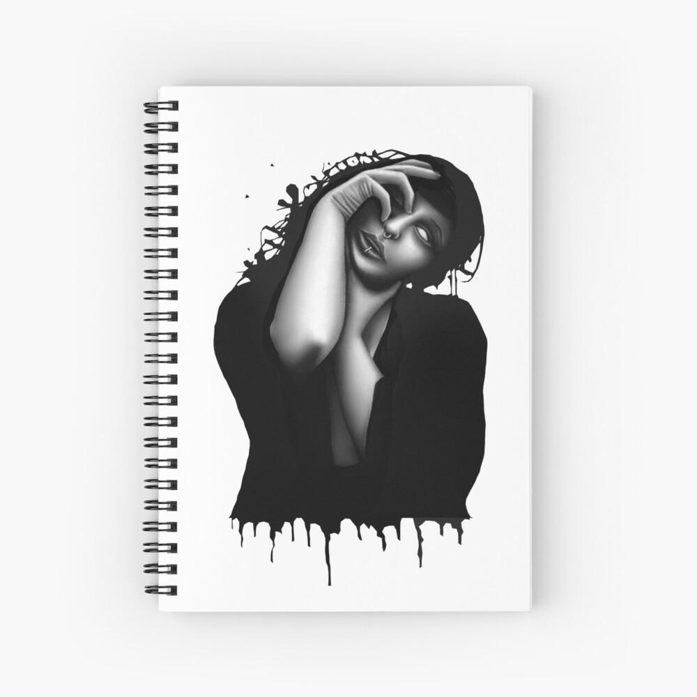 Descend (Colour pencil) Spiral Notebook