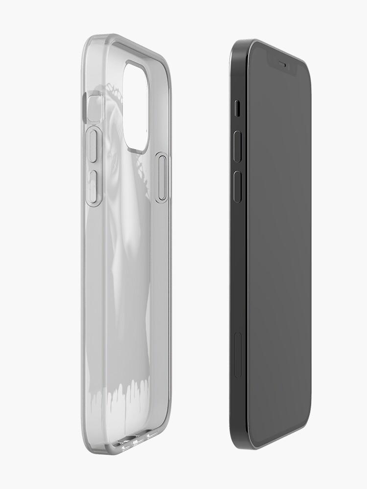 Alternate view of Descend (Colour pencil) iPhone Case & Cover