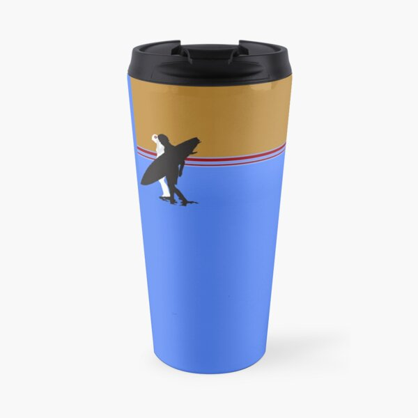 Surf Couple Travel Mug