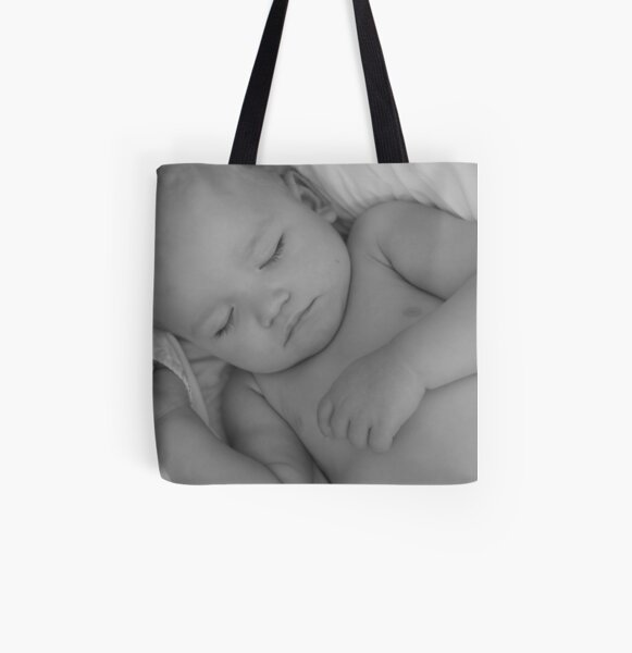 Baby Dreams, Sweetly All Over Print Tote Bag