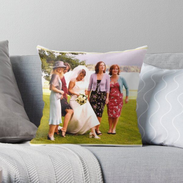 Ladies Legs Throw Pillow