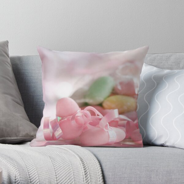 Once in a young lifetime one should be allowed to have as much sweetness as one can possibly want and hold Throw Pillow