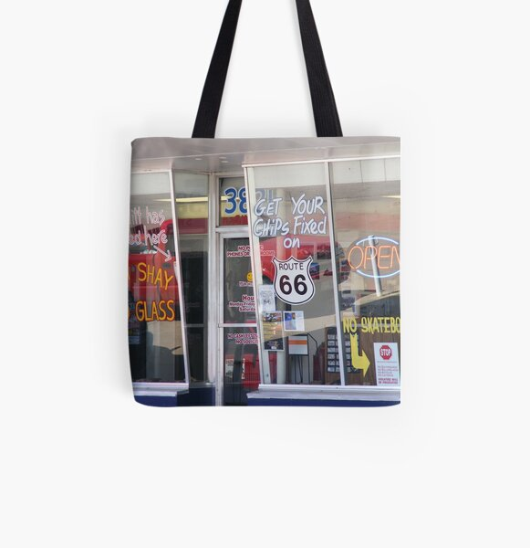 Get Your Chips Fixed? All Over Print Tote Bag