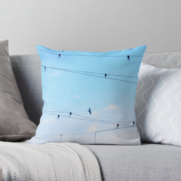 Right then a  few ideas occured to me whilst daydreaming of flying home finding harmony Throw Pillow