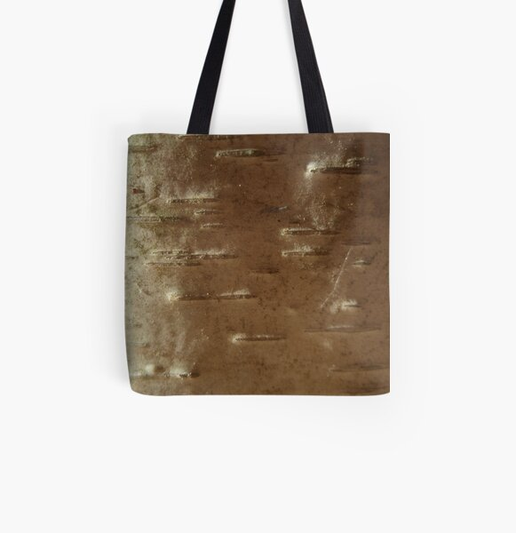 sunrise on woody snowscape All Over Print Tote Bag